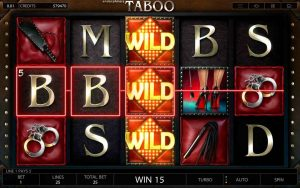 Endorphina games launch new casino game Taboo