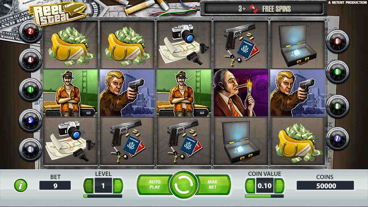 Reel Steal Slot Review