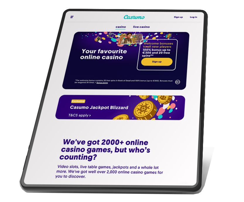 Casumo - a casino site free from withdrawal fees