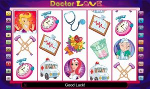 doctor love slot in-game view