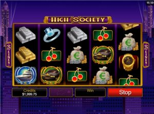 high society slot in-game