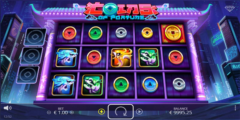 coin of fortune gameplay